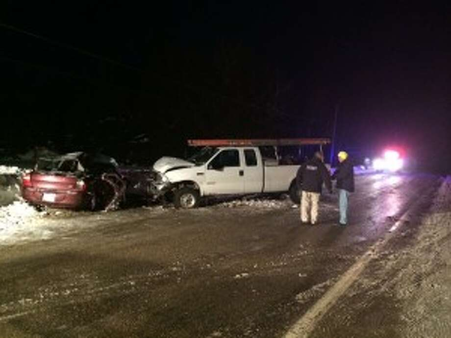 A Ludington woman and her 10-month-old daughter were killed following a car crash at 5:26 p.m. on Wednesday in Mason County.
