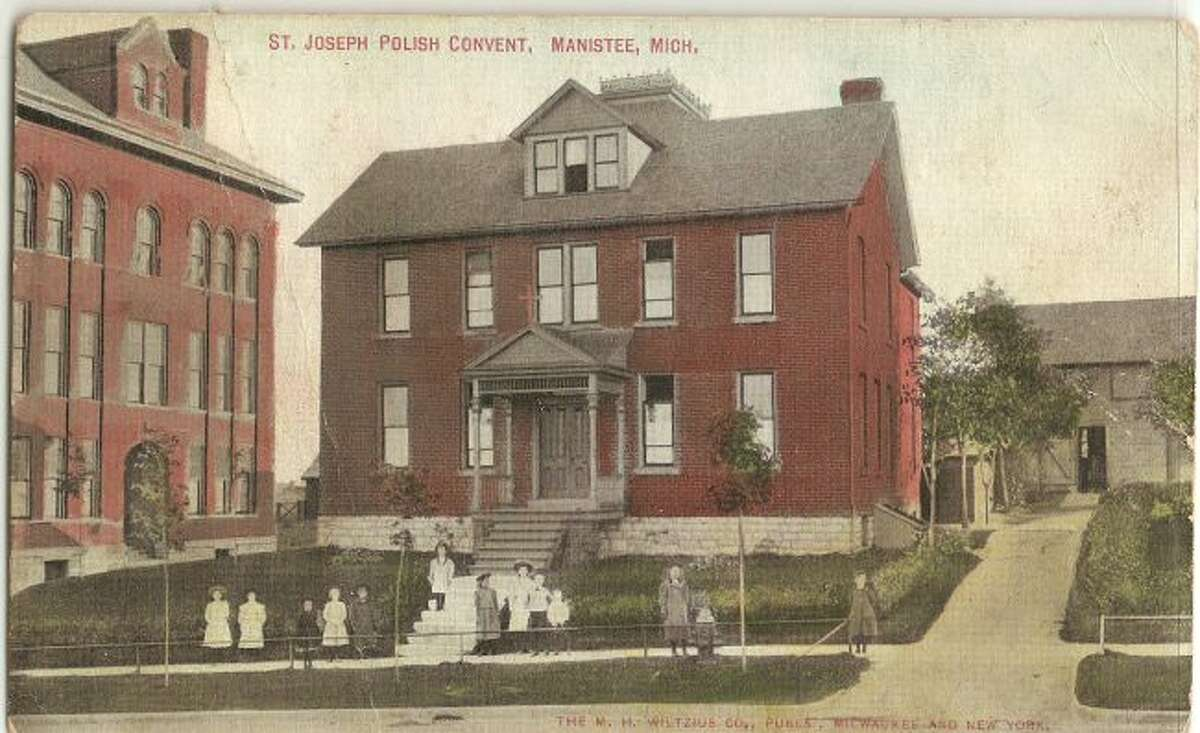 The St. Joseph Convent is shown in this 1920s photograph.