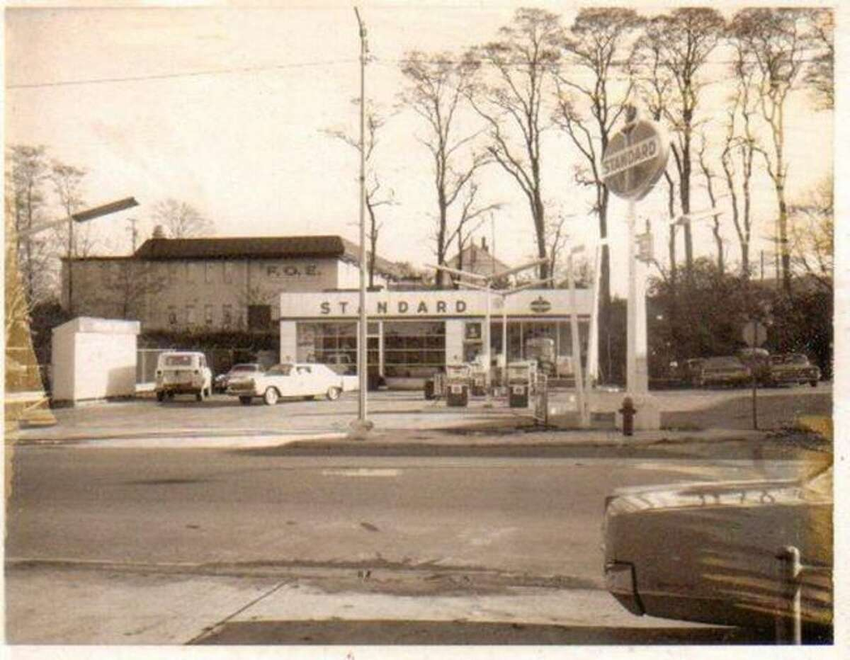 The Standard Gas Station was located on the corner of River and Division Street and was shown in this 1960s photograph.