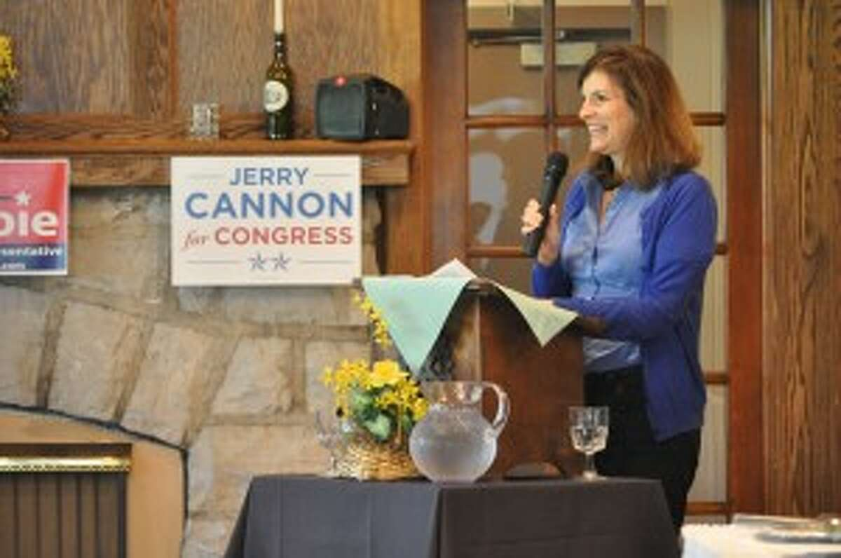 Lieutenant governor candidate Lisa Brown visited Manistee on Monday for a luncheon hosted by the Manistee County Democratic Party.