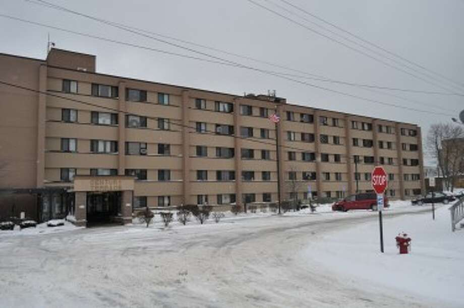 The Century Terrace apartments, at 237 Sixth Ave., may have new security cameras by September. (Eric Sagonowsky/News Advocate)