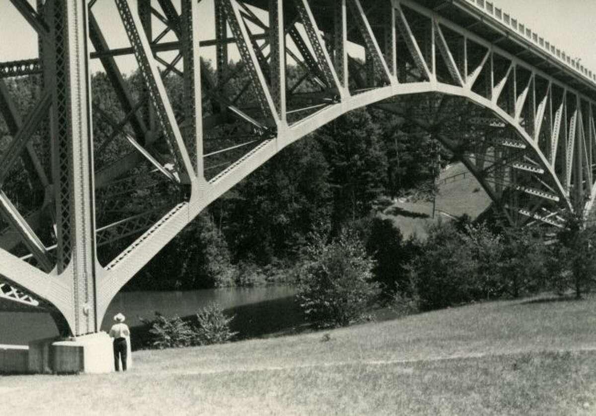 A view of Cooley Bridge circa 1940.