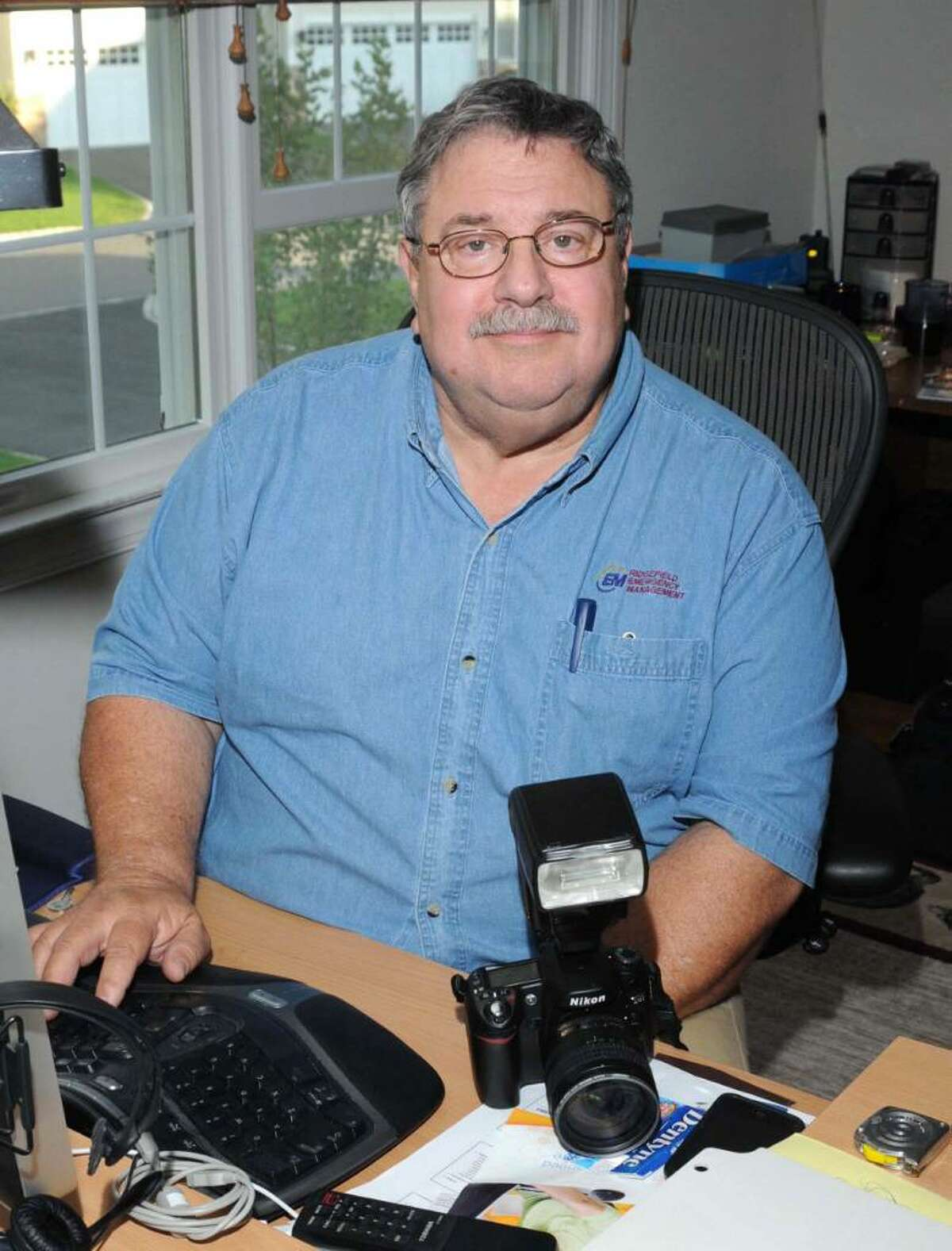 Dick Aarons, of Ridgefield, is a former Philadelpia newspaper police reporter and photographer who instructs police officers in crime scene photography.