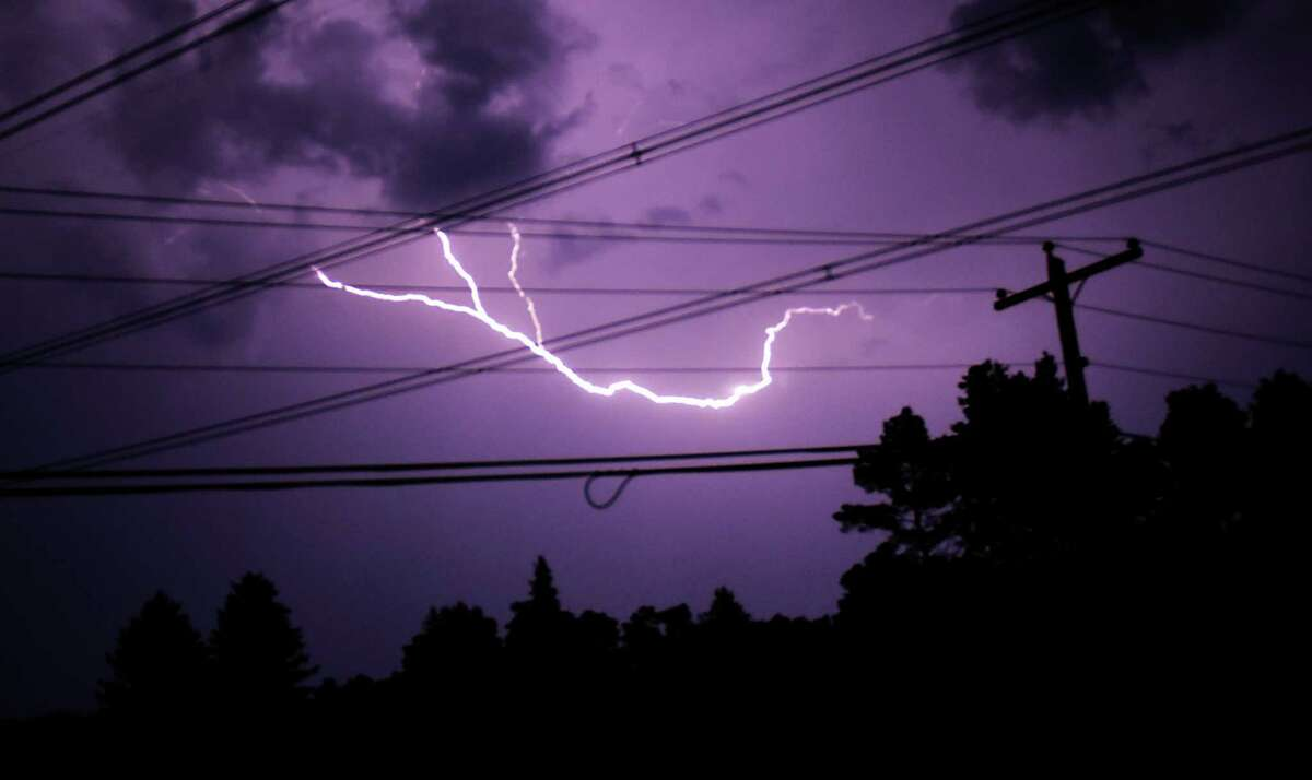 2. Ironically, despite my fascination with meteorology, I was terrified of thunderstorms as a kid. My father, however, used to make me sit in the garage and watch thunderstorms in an effort to show me that everything was going to be okay. I learned that the time between thunder and lightning corresponded with miles of the storm and that thunder was also angels bowling. My dad didn't think too much of it at the time, but he had me watching these storms in an aluminum chair. Needless to say, I'm no longer afraid of thunderstorms.