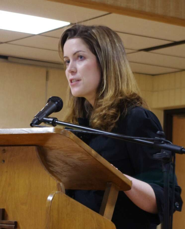 Shauna Prewitt was the keynote speaker at the Right to Life of Manistee County's annual Focus on Life Benefit Dinner. (Dave Yarnell/News Advocate)