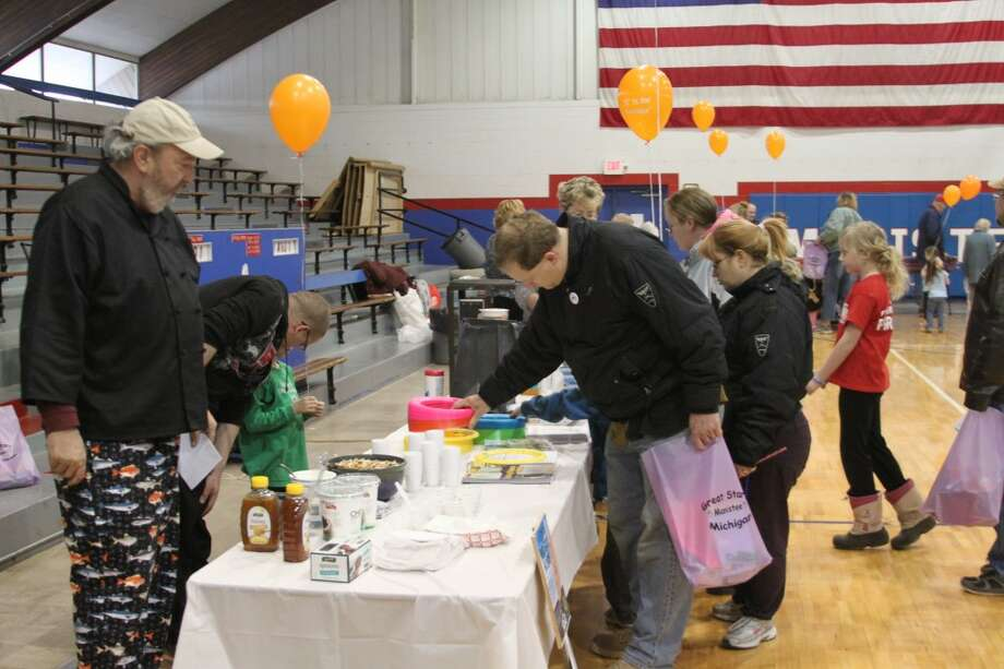The Manistee County Community Kitchen and chef Al Frye had plenty of tips for people to eat healthy during the Manistee County Community Health Fair.