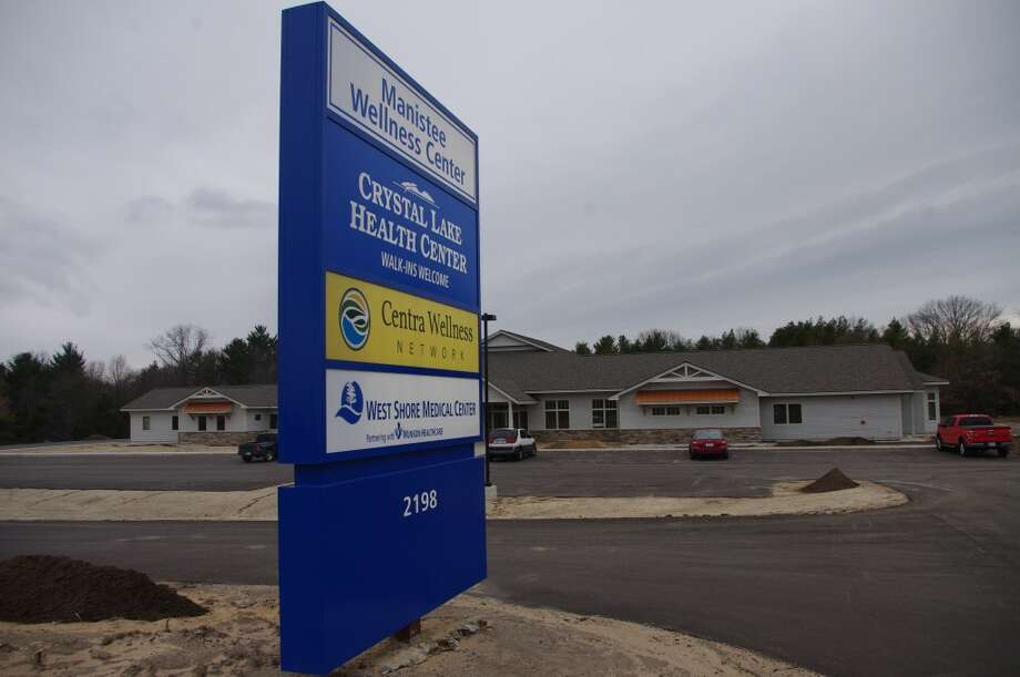 The Manistee Wellness Center has been under construction south of Manistee since August. (Dave Yarnell/News Advocate)