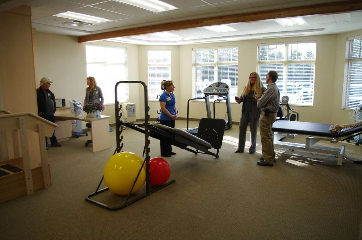 West Shore Medical Center is offering occupational therapy and physical therapy at the new Manistee Wellness Center. (Dave Yarnell/News Advocate)