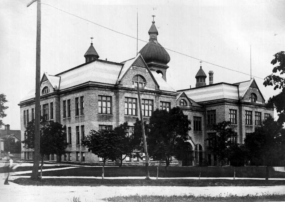 The former Central High School in Manistee. (Courtesy Photo/Manistee County Historical Museum)