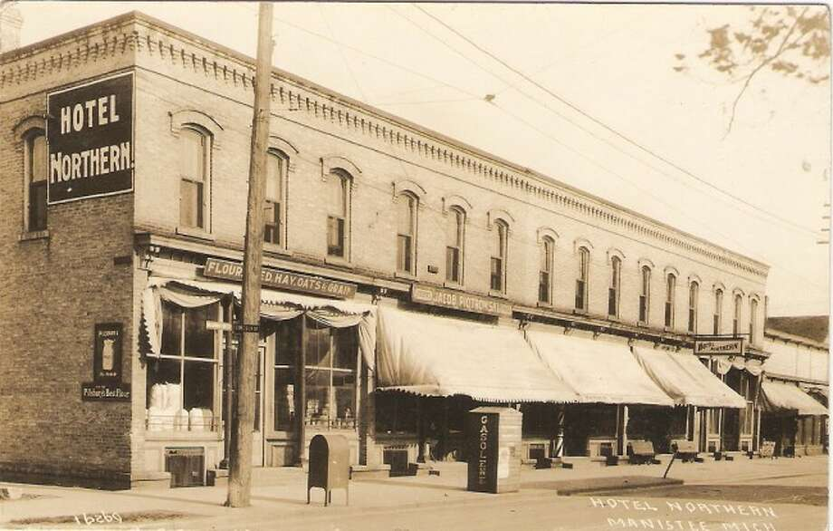 The Hotel Northern that is still located on Washington Street in Manistee is shown in this early 1900s picture.