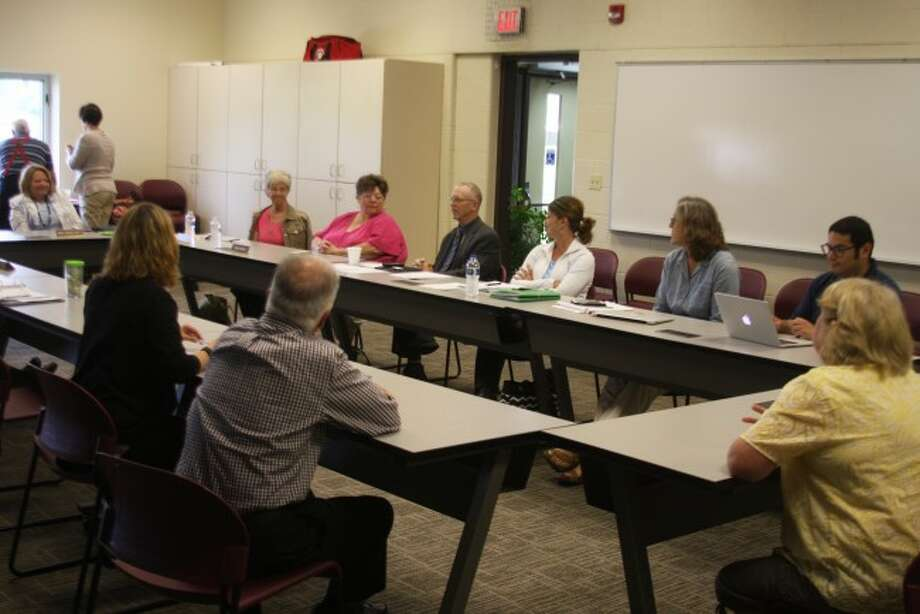 Members of the CASMAN Academy and Manistee Intermediate School District boards of education held their annual joint meeting this week. The Manistee ISD is the chartering agent for CASMAN Academy and the two groups review annually how the partnership is working.