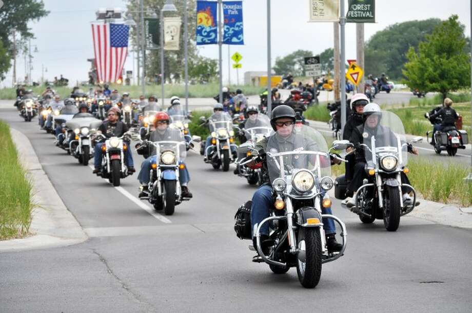 The sixth annual Thunder at the River event kicks off Friday with an escort ride at 2 p.m. from the Manistee VFW Walsh Post No. 4499 to the Little River Casino Resort in Manistee. Other events take place on Saturday and Sunday as well.
