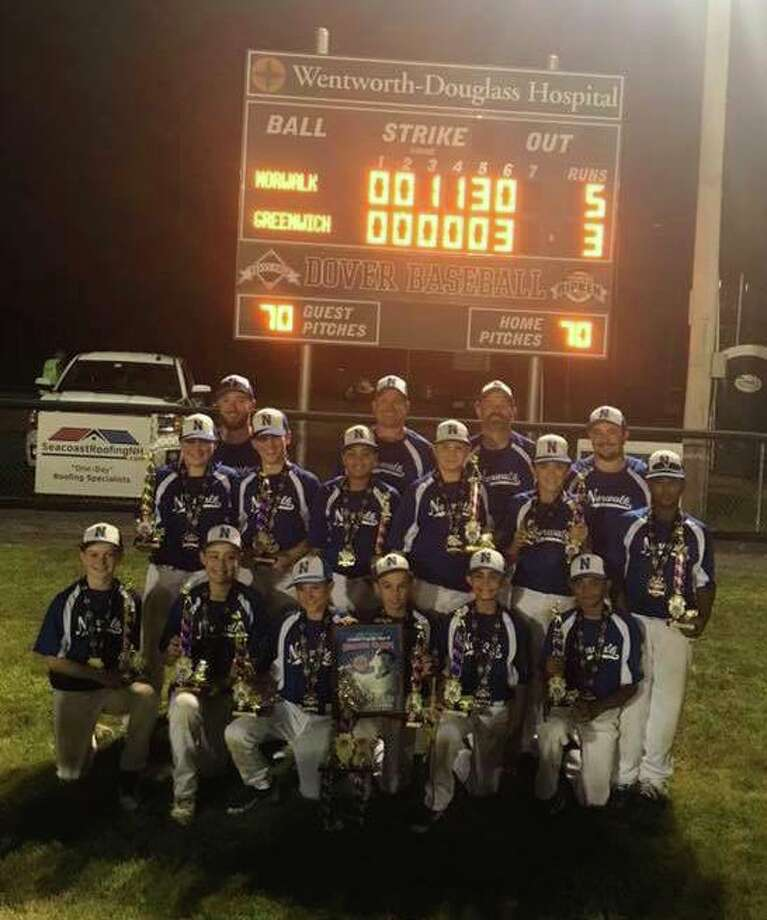 The Norwalk Cal Ripken 11U All Stars won the New England Regional tournament last week in Dover, N.H. Norwalk beat Greenwich 6-4 and 5-3 in the final round. Photo: Contributed Photo / Contributed Photo / Stamford Advocate Contributed