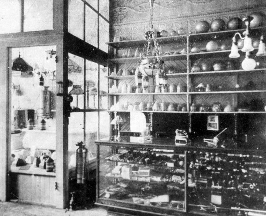 Inside the Lloyd and Smith plumbing store formerly located at 431 River Street.