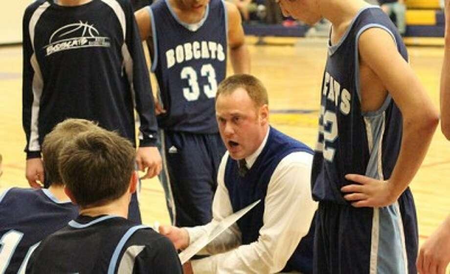 Brethren boys basketball coach Travis Walker recently resigned after three seasons with the Bobcats. (Matt Wenzel/News Advocate file photo)