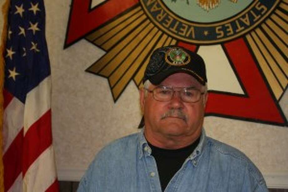 Manistee VFW Commander Don Vadenboncoeur stresses the importance of civic duty and the VFW's involvement in Manistee County.