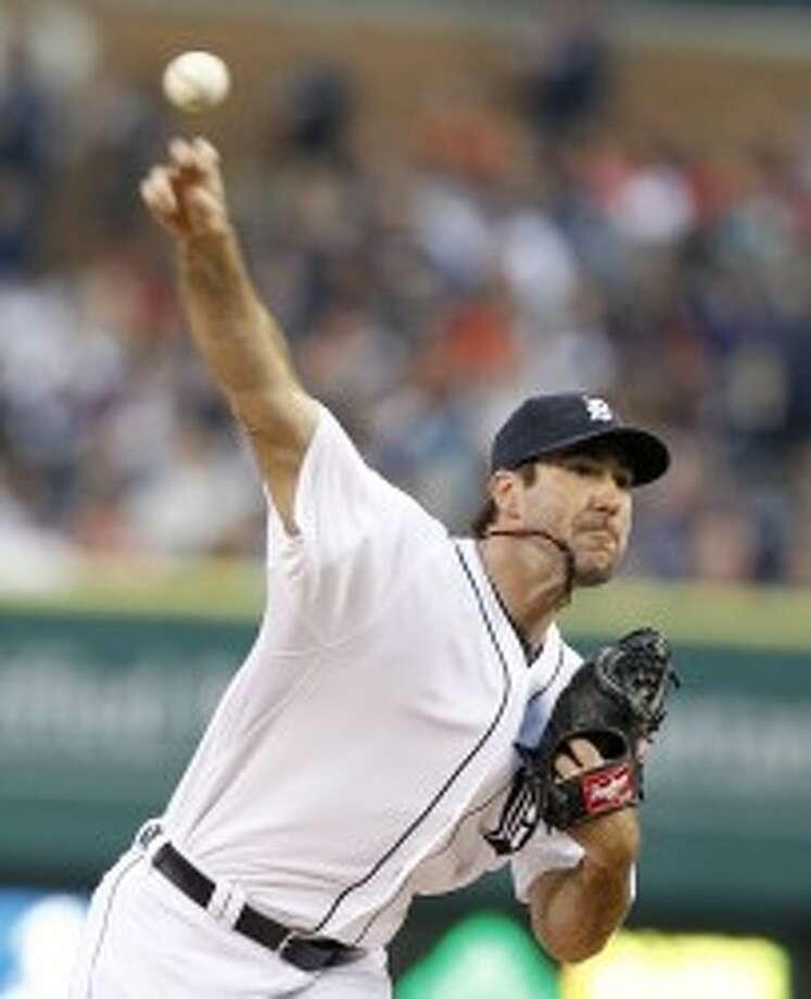 Tigers pitcher Justin Verlander will oppose Rangers ace Yu Darvish in tonight's series opener in Texas. (Julian H. Gonzalez/Detroit Free Press/MCT)