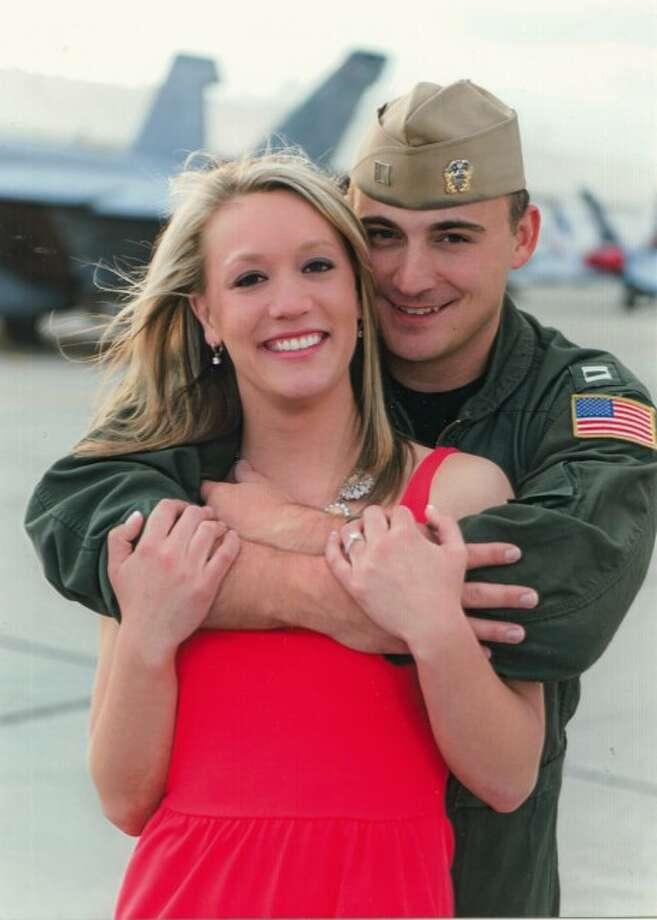 Ashley Thomas and Lt. Scott Nieman