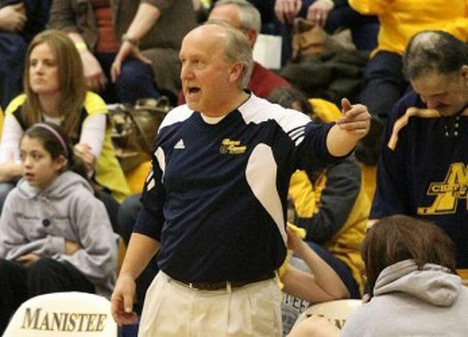 Kenn Kott is done as Manistee girls basketball coach after leading the program since 1995. (Matt Wenzel/News Advocate file photo)