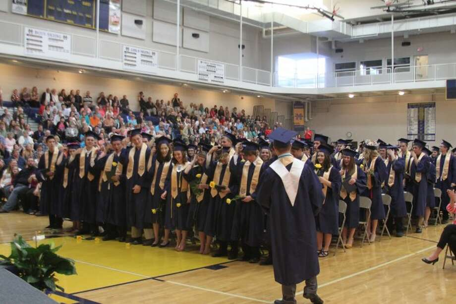 Manistee High School graduated 117 on Saturday night during commencement exercises.