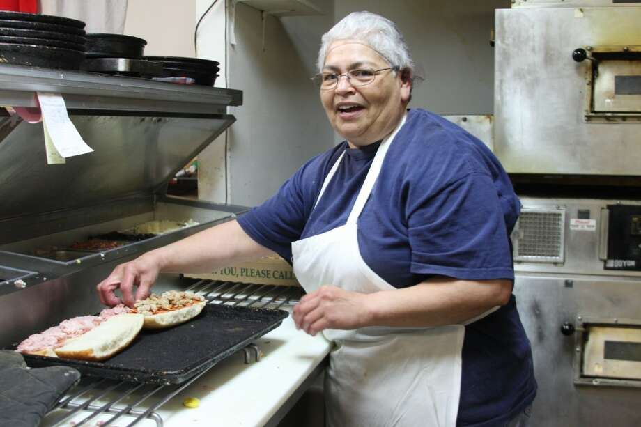 "Rebecca Mattison, a Big Al's employee of 25 years, said she ""enjoys her job very much."" (Abigale Racine/News Advocate)"