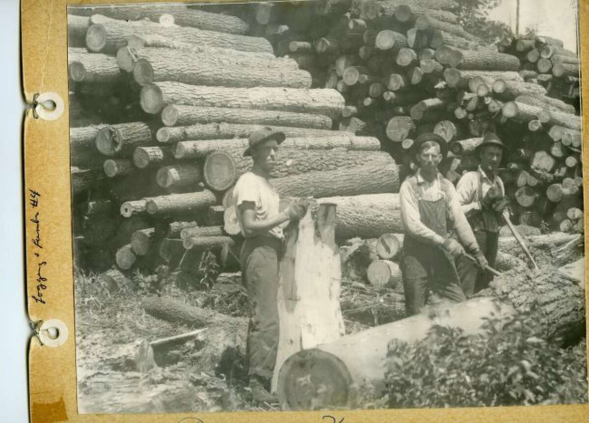 The logging business remained very popular in Manistee County in the early 1900s.