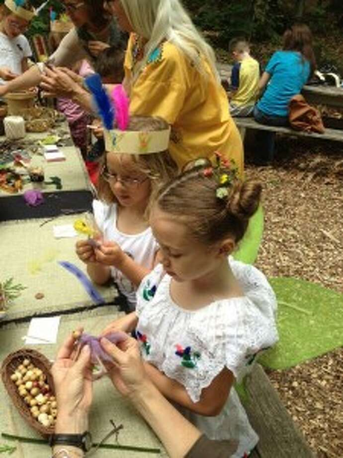 The Michigan Legacy Art Park's summer kickoff event, Fairies and Forts, will be held from 2 to 5 p.m. on June 21 at the park. Children of all ages are invited to use their imagination in a natural setting to create their own fort or fairy house, flower tiaras, fairies, flags and drums from found objects.