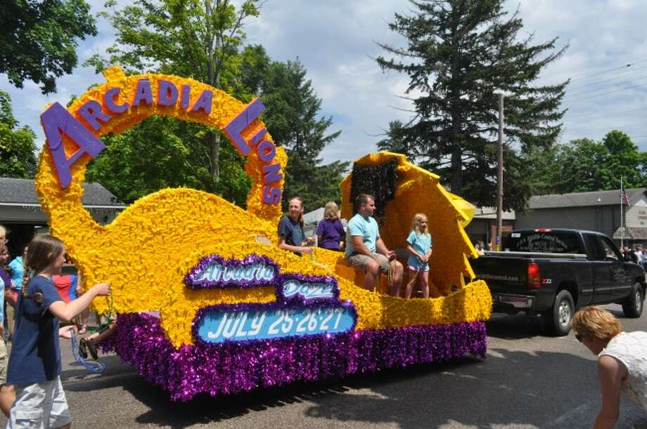 The Arcadia Lions Club have been a very active part of their community. One of the many things the club does is to sponsor the annual Arcadia Days celebration.