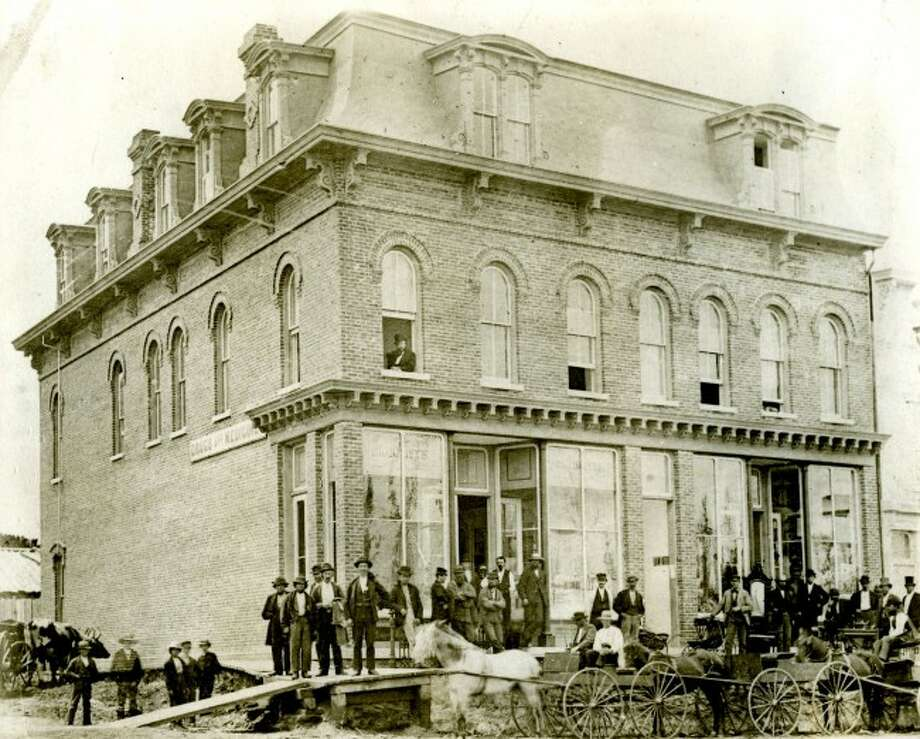 The Lucas & Nungessor Block was constructed in 1872 and was one of the first the substantial buildings put up after the Great Fire of 1871. The building was home to numerous druggists and drugstores since it was built.
