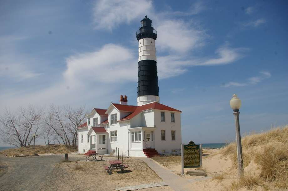 Lighthouses from Muskegon to Manistee will be featured this weekend during the Second Annual Michigan's West Coast Lighthouse Festival, which is organized by the Sable Points Lighthouse Keepers Association. From noon to 5 p.m. on Saturday bus transportation will be available through Ludington State Park to the Big Sable Point Lighthouse, seen here. (News Advocate File Photo)