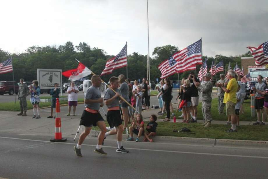 The Running with the Soldiers 5K was held on July 18 in Manistee with members of the 126 Bravo Unit. It was announced on Wednesday that Bravo Troop will be relocated to Grand Rapids