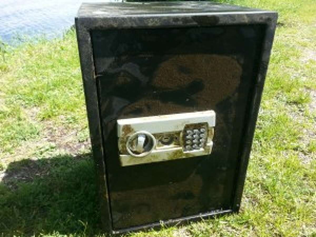 Manistee County Sheriff's Office divers recovered a safe that was stolen from CASMAN Alternative Academy in May.