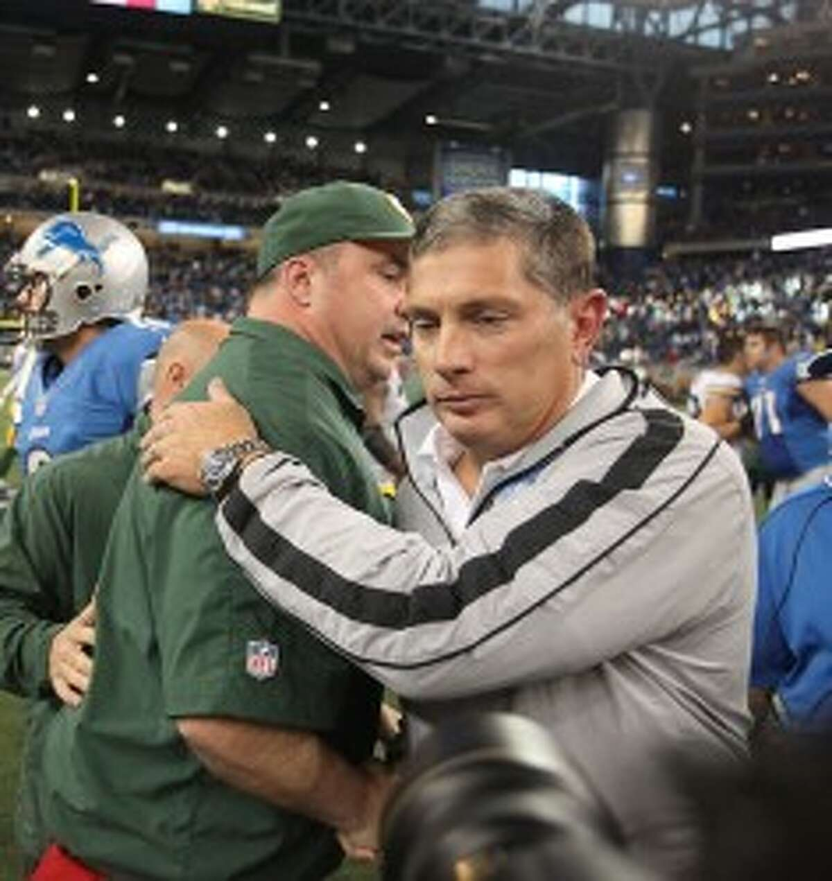 Lions vice chairman Bill Ford Jr. won't speculate on what the future holds for coach Jim Schwartz. (MCT Photo)