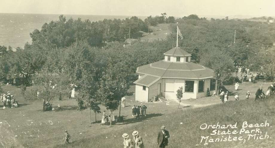 The Orchard Beach State Park was a grand place to visit on a sunny Sunday afternoon in the early 1900s.
