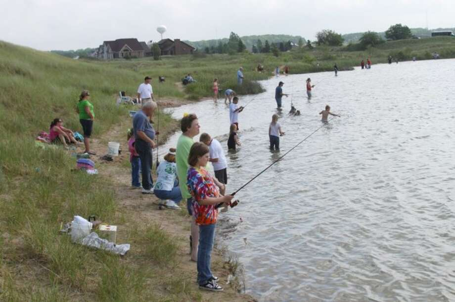 The annual Kids Fish Day will be taking place at Manmade Lake on Wednesday.