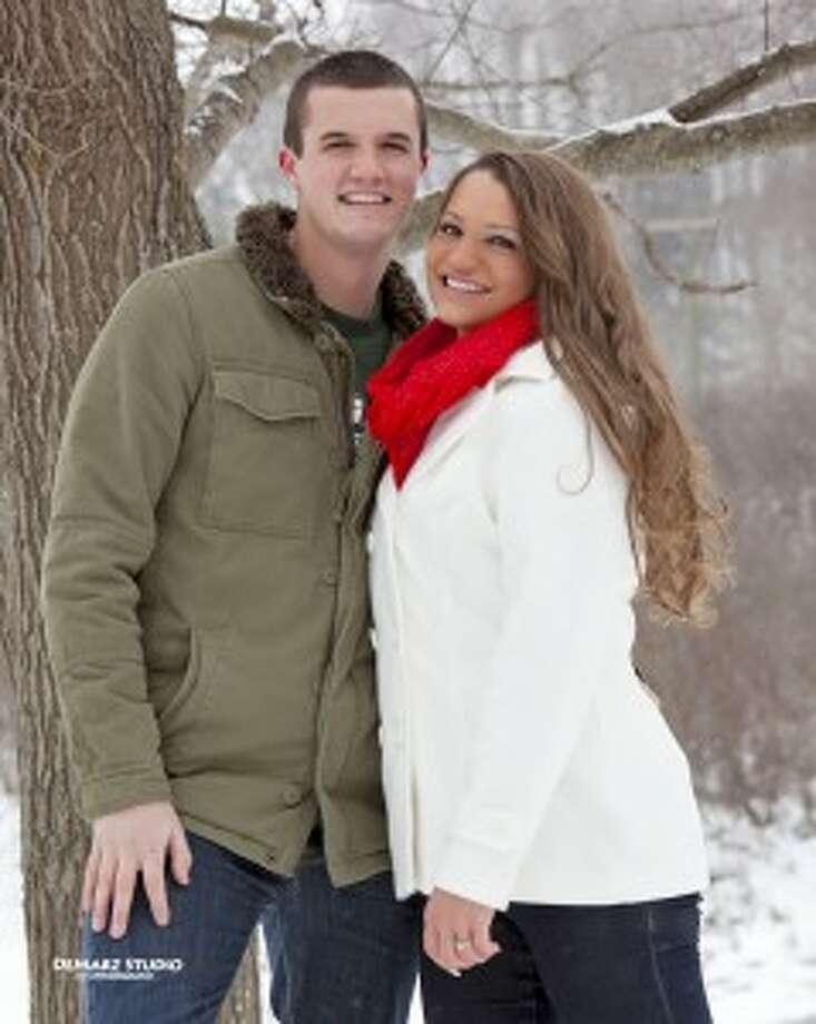 Julia Maksym and Tyler Bell