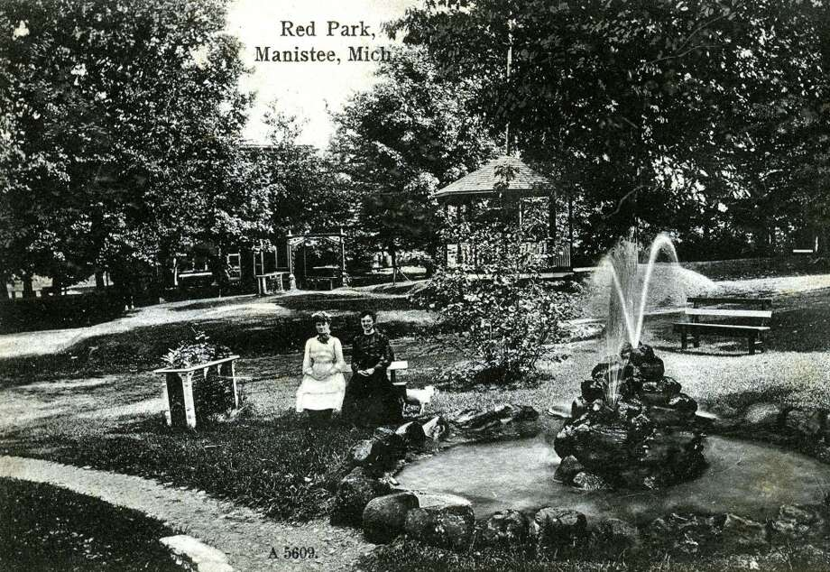 A glimpse of Red Park in the early 1900s. (Courtesy Photo/Manistee County Historical Museum)
