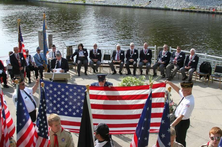 The Manistee Elks Lodge No. 250 held its Flag Day ceremonies on Saturday evening.