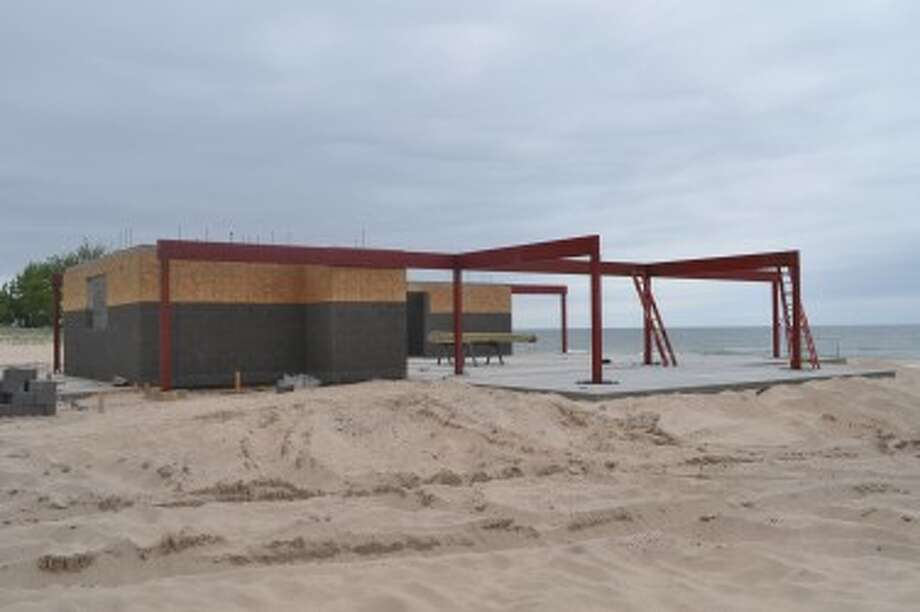 City of Manistee staff recently gave an update on how the city's capital projects are progressing. Contractors involved with the First Street Beach fish cleaning station and shelter have laid out a detailed schedule to adhere to in order to complete by the Fourth of July.