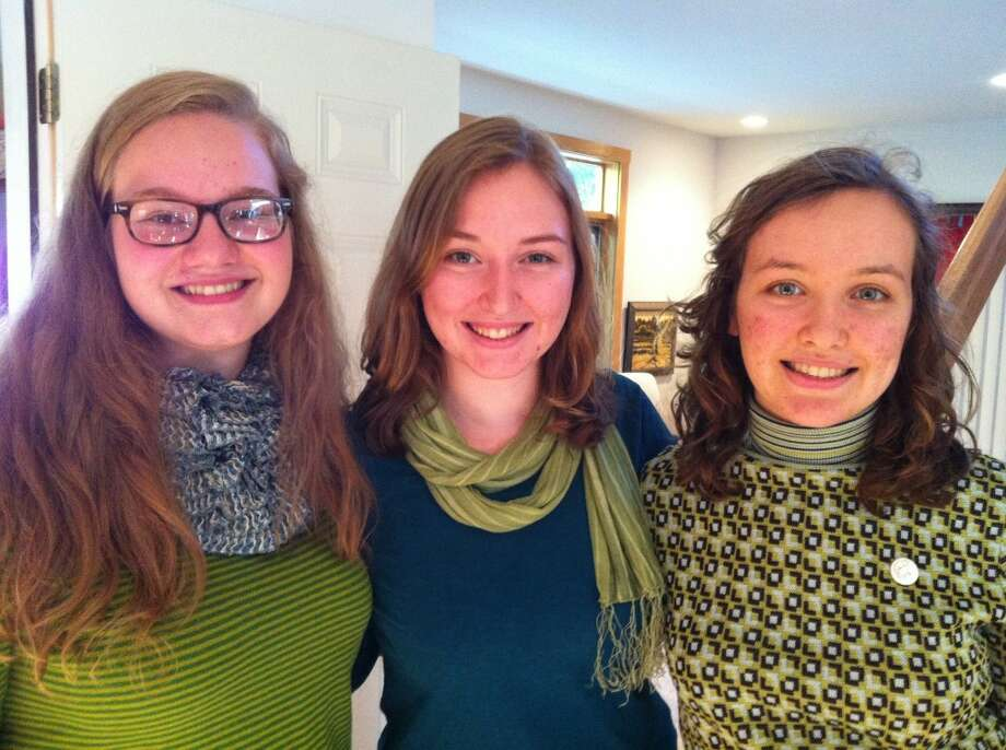 The trio Incan Descent, featuring (from left to right) Emily Barnard, Madalyn Harvey, and Claire Harvey, will be among the vocalists to perform at the fourth annual Summer Solstice Concert set for 7 p.m. June 24 at Faith Covenant Church in Manistee (Courtesy Photo)