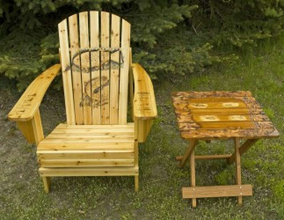 The Art at Rest auction in Ludington on Sunday offers unique furniture crafted by local artists at Lincoln Hills Golf Club, the proceeds going toward the Memorial Medical Hospital expansion project.(Courtesy photo)