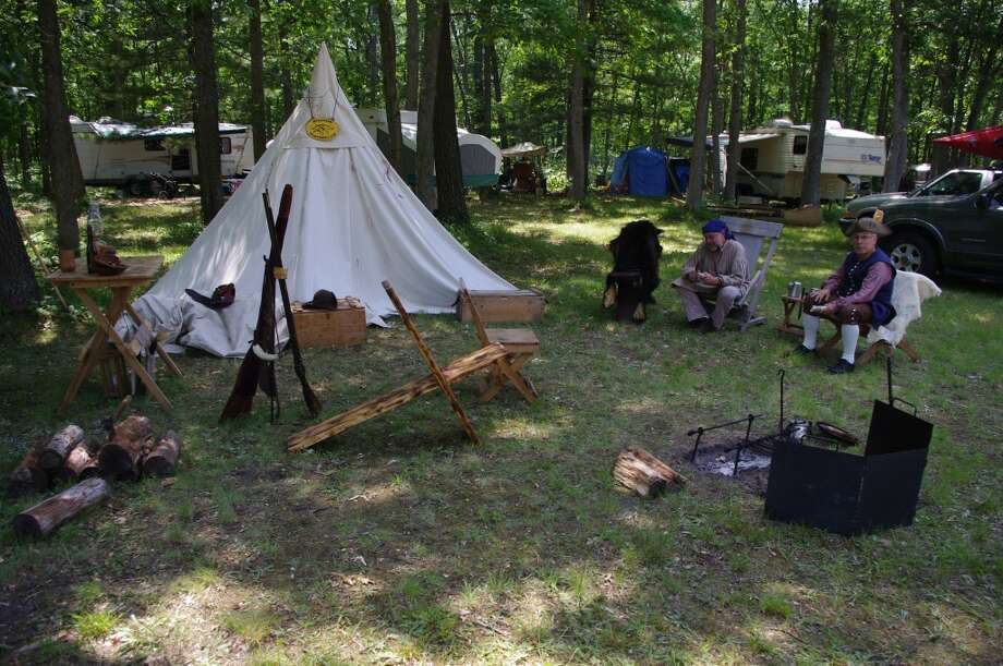 This weekend the Manistee Clan Muzzle Loaders host their annual Shoot Time on Saturday and Sunday at Fort Rendezvous, located on Camp Road south of Manistee. In addition to many types of shooting matches, there is also a prize for the best primitive campsite. (News Advocate File Photo)