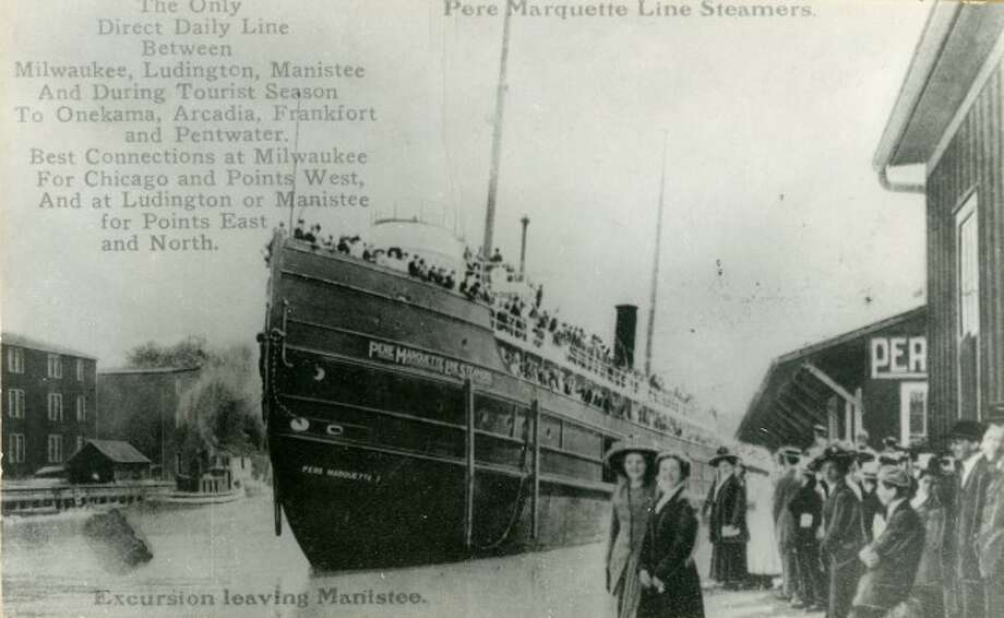 Throughout the Victorian Era, the Pere Marquette steamers often transported people for day long or week long excursions.