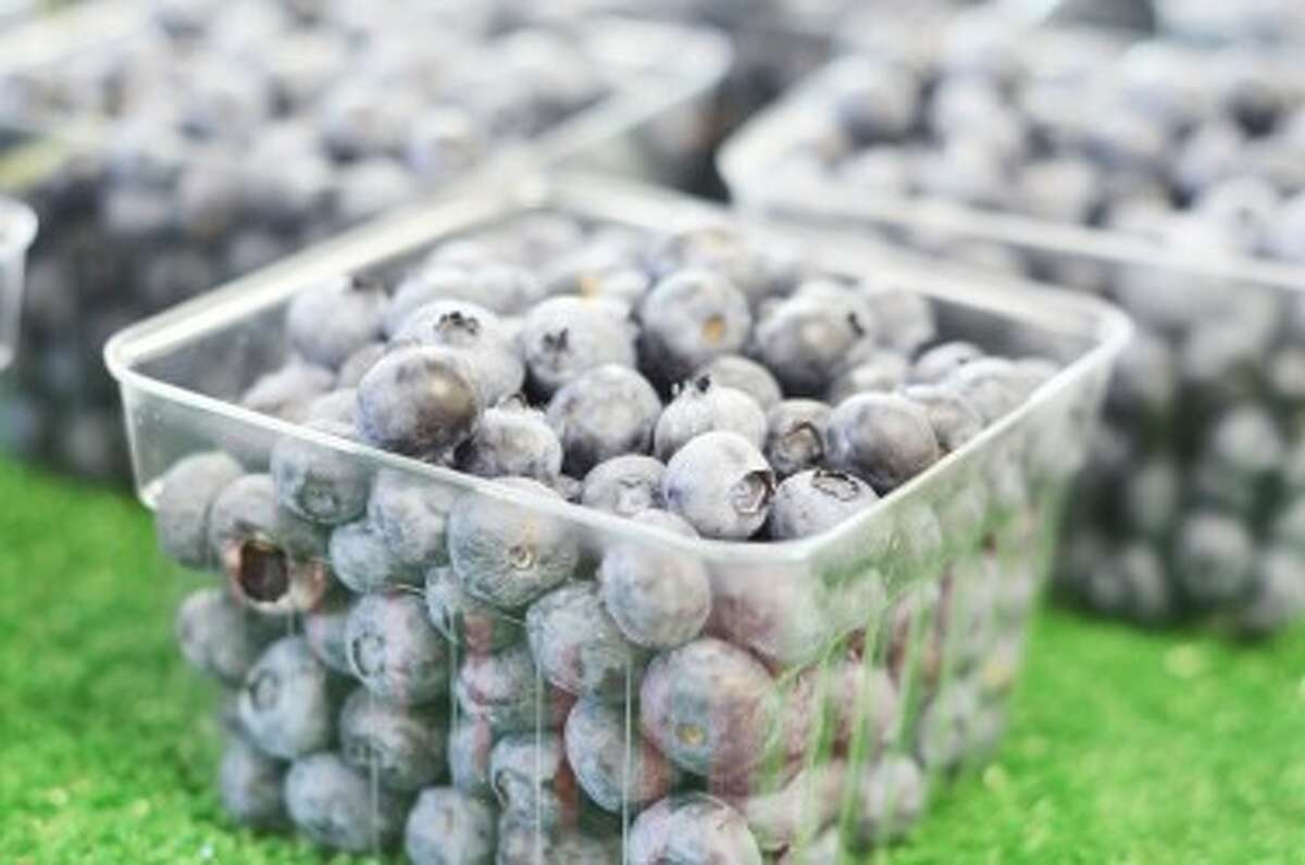 Miller's Produce sells blueberries in sizes ranging from a pint to a 10-pound box. (David Navadeh/News Advocate)