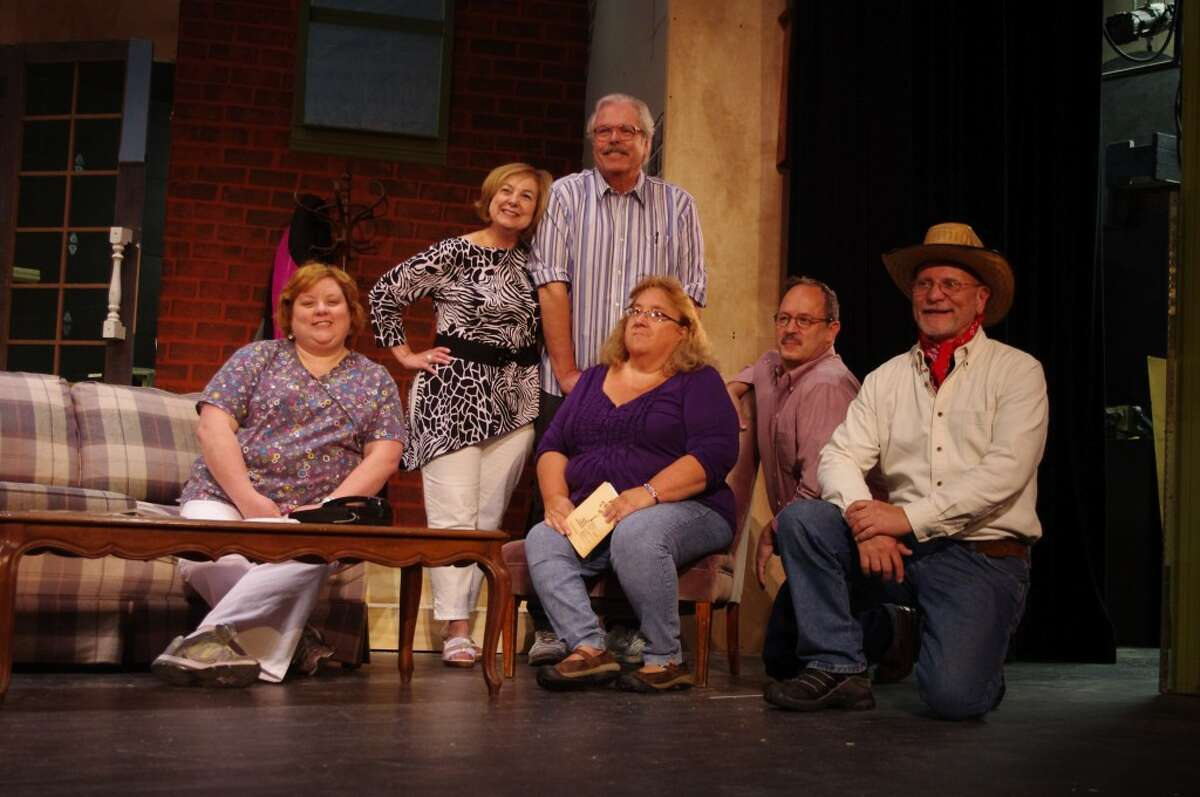 The characters in the Manistee Civic Players production of the comedy