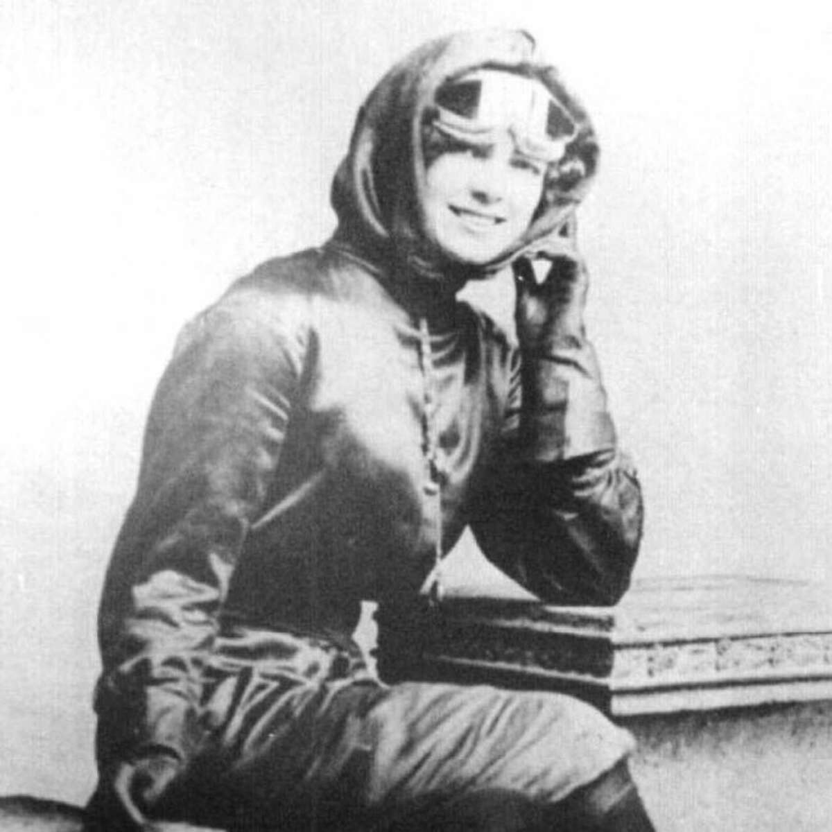 Harriet Quimby was the first lady of flight and came from the Aradia area in Manistee County.