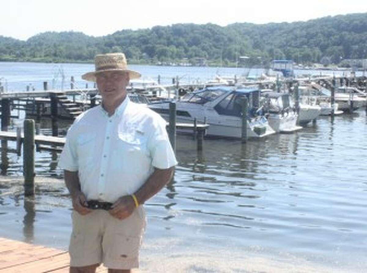 Dick Murphy has been active in the charter fishing business in the Frankfort area. (John Raffel/Pioneer News Network)