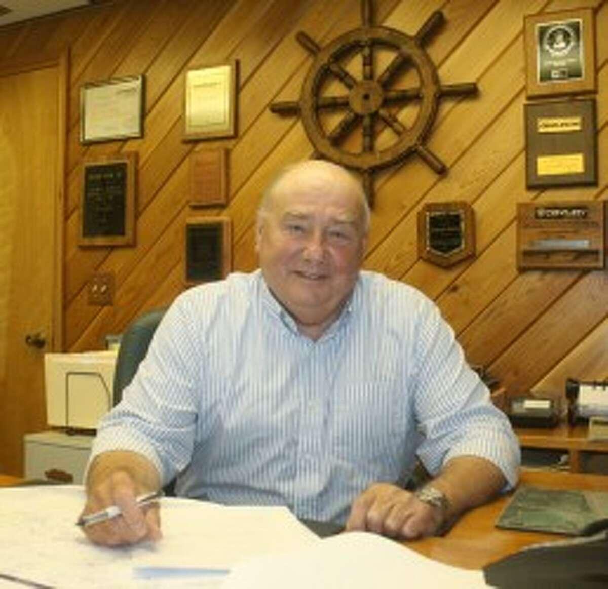 Jim Mrozinski and his family have had Onekama Marine for 49 years. (John Raffel/Pioneer News Network)