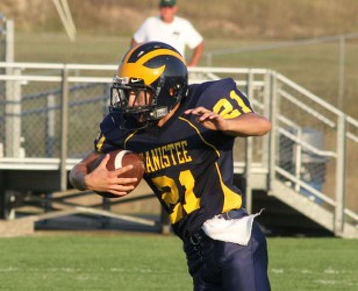 Manistee senior Evan Slawinski will be the Chippewas' starting quarterback this season. (Matt Wenzel/News Advocate file photo)