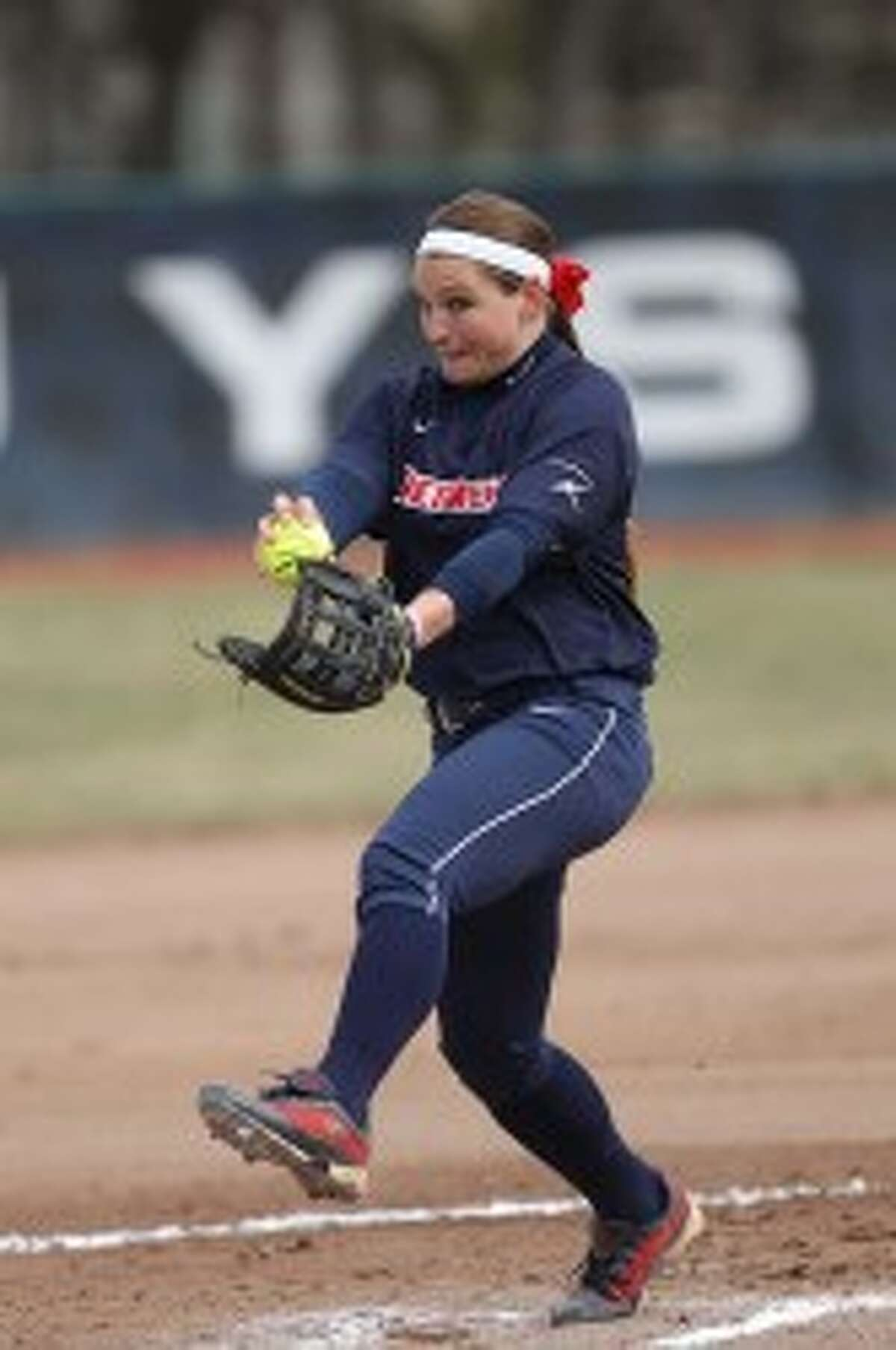 Julia Maksym, a 2010 Manistee graduate, recently completed her junior season with the Titans. (Photo Courtesy of University of Detroit Mercy Athletics)